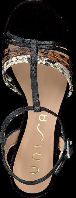UNISA Sandales VARSHAL en noir  - large