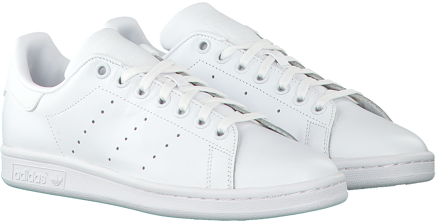 8a79edb2aad Witte ADIDAS Sneakers STAN SMITH DAMES - Omoda.be
