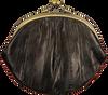 BECKSONDERGAARD Porte-monnaie GRANNY RAINBOW AW19 en noir  - small
