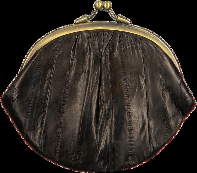 BECKSONDERGAARD Porte-monnaie GRANNY RAINBOW AW19 en noir  - large