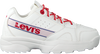 Witte LEVI'S Lage sneakers SOHO  - small
