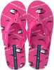 Roze TOMMY HILFIGER Teenslippers LIPS PRINT  - small