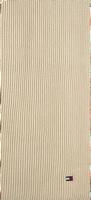 Witte TOMMY HILFIGER Sjaal ESSENTIAL KNIT SCARF  - medium