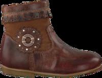 Bruine BRAQEEZ Lange laarzen 417510  - medium
