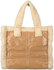Beige STAND STUDIO Handtas LOLITA TEDDY BAG  - small