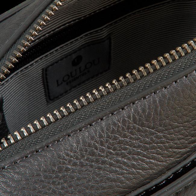 LOULOU ESSENTIELS Sac bandoulière 12POUCH en gris  - large