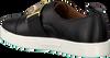 Zwarte CALVIN KLEIN Slip-on sneakers  E5681  - small