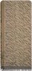 BECKSONDERGAARD Foulard MILLE ZEBRA SCARF en or  - small