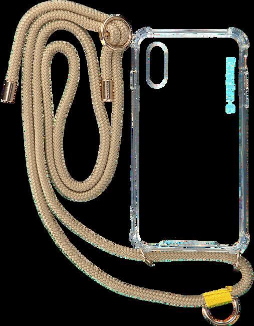 KASCHA-C Mobile-tablettehousse PHONECORD IPHONE X/XS en beige  - large