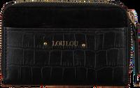 LOULOU ESSENTIELS Porte-monnaie SLB14XS CLASSY CROC en noir  - medium