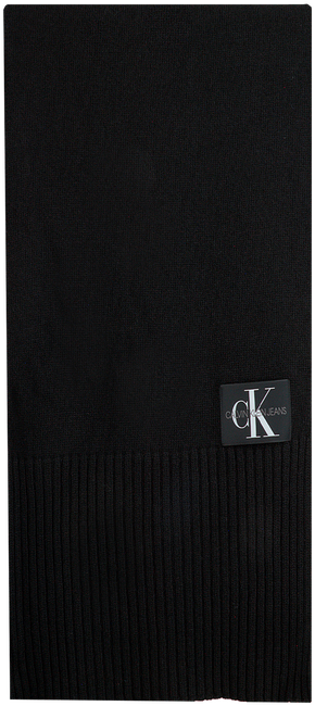 Zwarte CALVIN KLEIN Sjaal J BASIC MEN KNITTED SCARF  - large