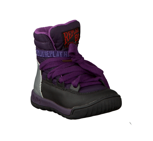 purple REPLAY shoe SOR  - large