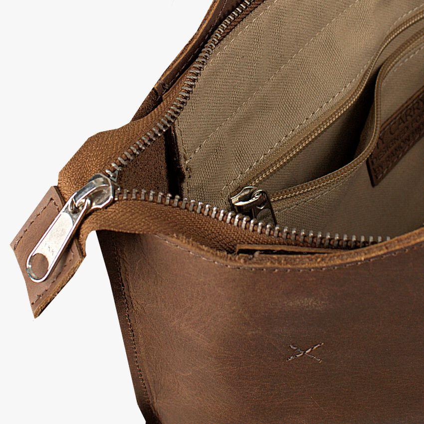 Taupe MYOMY Handtas MY CARRY BAG MINI - larger