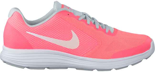 Roze NIKE Sneakers REVOLUTION 3 KIDS  - large
