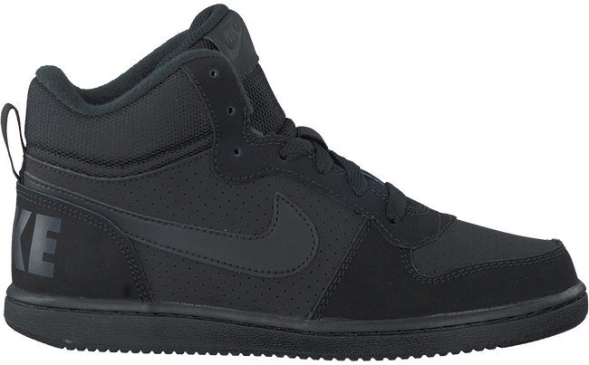 Zwarte NIKE Sneakers COURT BOROUGH MID (KIDS)  - large
