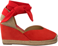 UNISA Espadrilles CHUFY en rouge  - medium