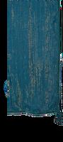 Blauwe LE BIG Sjaal PORIA SCARF  - medium