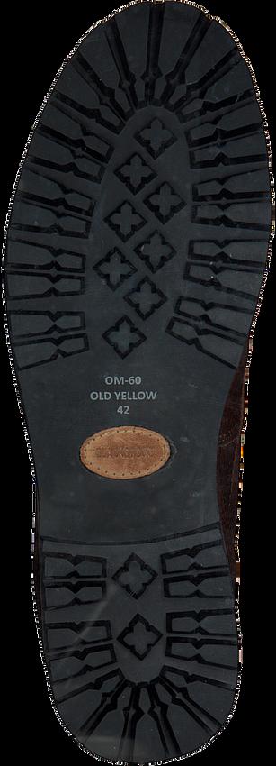 BLACKSTONE Bottines OM60 en marron - larger