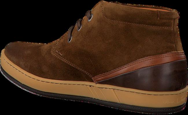 VAN LIER Chaussures à lacets 7287 en marron - large