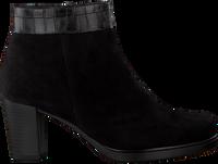 Zwarte GABOR Enkellaarsjes 860.1  - medium