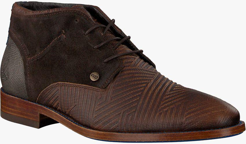 Bruine REHAB Nette schoenen SALVADOR ZIG ZAG - larger