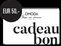 OMODA CADEAUBON EUR 50,- - medium