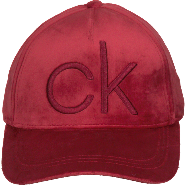 Rode CALVIN KLEIN Pet BASEBALL CAP VELVET - large