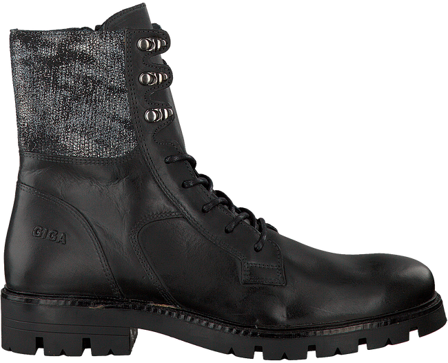 GIGA Bottines à lacets 8654 en noir - large