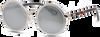 Grijze IKKI Zonnebril JINX - small