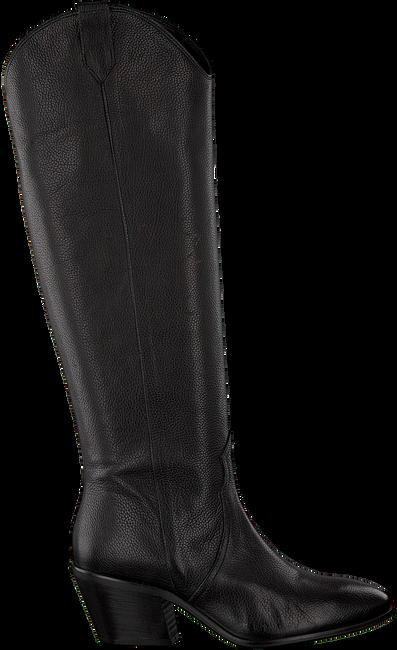 Zwarte ROBERTO D'ANGELO Lange laarzen MEREL  - large