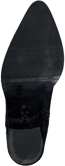 BRONX Santiags NEW-AMERI en noir  - large