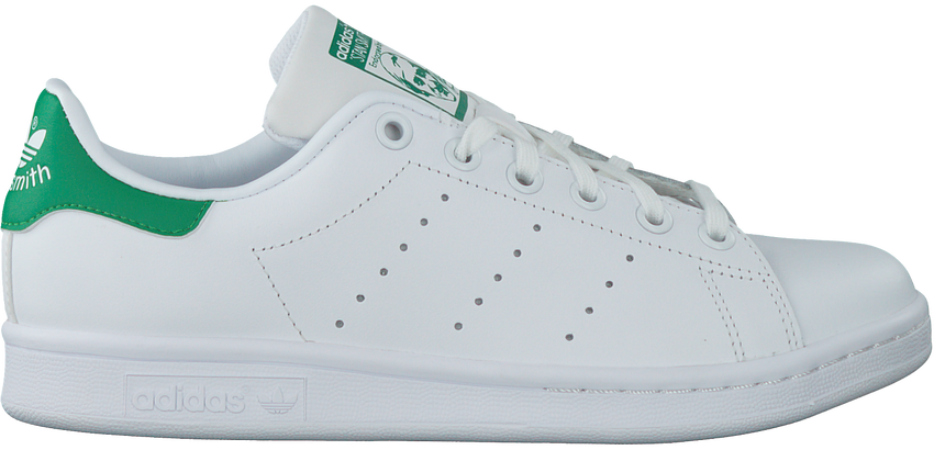 Witte ADIDAS Sneakers STAN SMITH J - larger