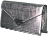 MICHAEL KORS Pochette GRACE MD ENVELOPE CLUTCH en argent  - small