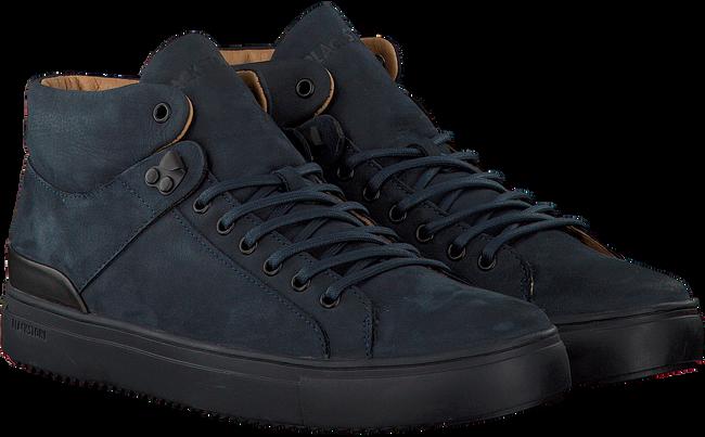 BLACKSTONE Baskets OM65 en bleu - large