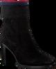 Zwarte TOMMY HILFIGER Enkellaarsjes COSY HIGH HEEL  - small