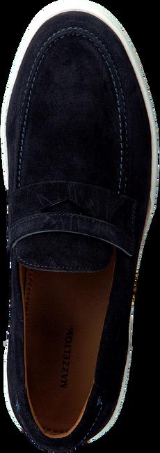 MAZZELTOV Chaussures à enfiler 51127 en bleu  - large