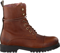 Cognac PS POELMAN Veterboots DUBLINO  - medium