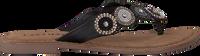Zwarte LAZAMANI Slippers 75.451  - medium