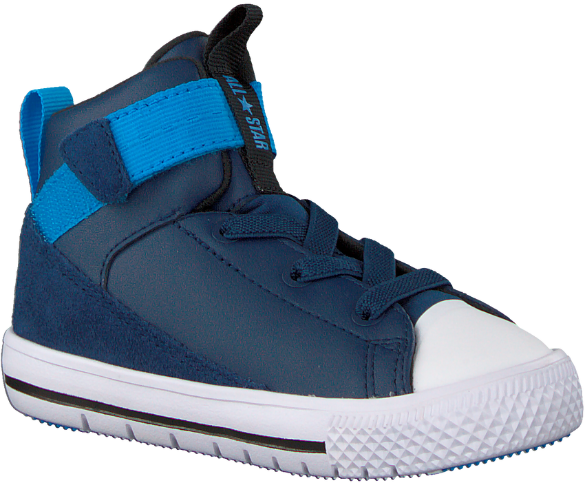 CONVERSE Baskets CHUCK TAYLOR HIGH STREET KIDS en bleu - larger