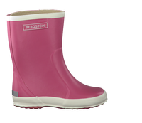 BERGSTEIN Bottes en caoutchouc RAINBOOT en rose - medium