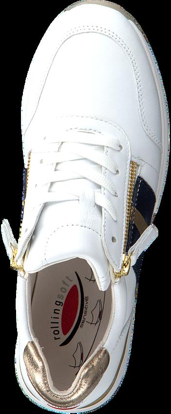 GABOR Baskets basses 928 en blanc  - larger