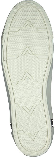 DIESEL Baskets ZIP-TURF en noir - large