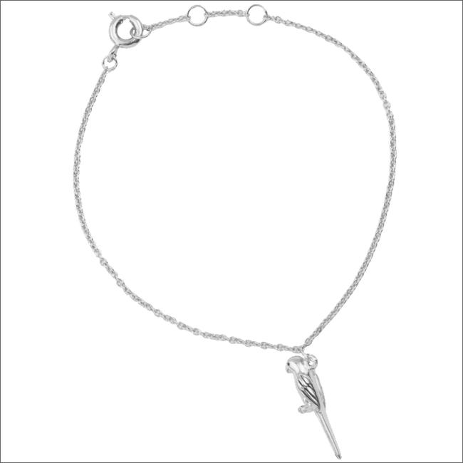 ALLTHELUCKINTHEWORLD Bracelet SOUVENIR BRACELET PARROT en argent - large