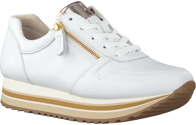 Witte GABOR Lage sneakers 448  - large