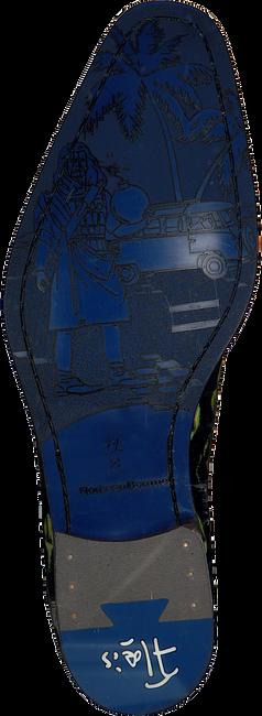 FLORIS VAN BOMMEL Richelieus 18204 en noir  - large