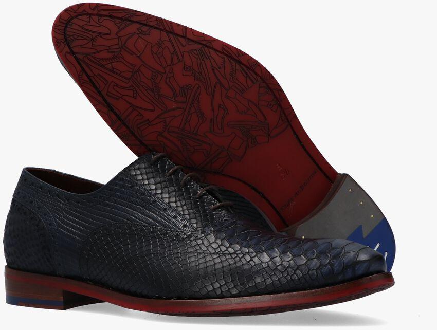 Blauwe FLORIS VAN BOMMEL Nette schoenen 19104 - larger