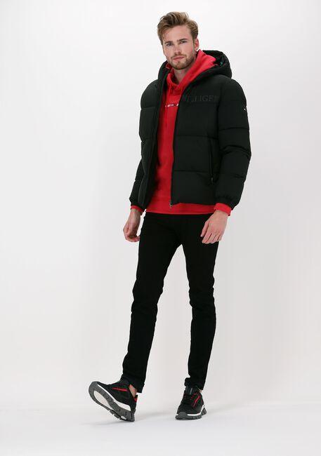 Zwarte TOMMY HILFIGER Gewatteerde jas HIGH LOFT JACKET - large