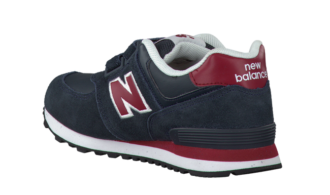 NEW BALANCE Baskets KV574 en bleu - large