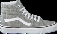 Grijze VANS Sneakers UA SK8-HI WOMEN  - medium