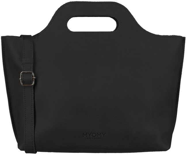 MYOMY Sac à main MY CARRY BAG HANDBAG en noir - large